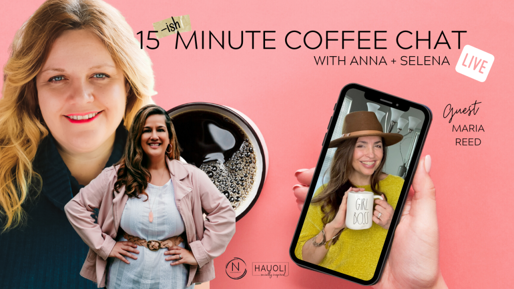 15 {ish} Minute Coffee Chat with Maria Reed of Moving With The Military