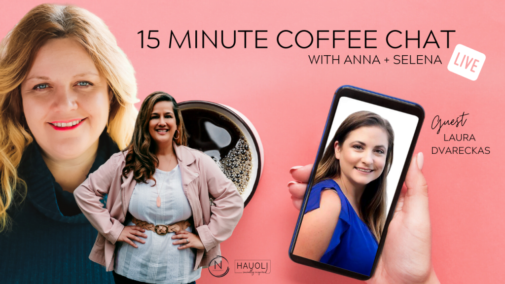 15 Minute Coffee Chat with Laura Dvarkes.