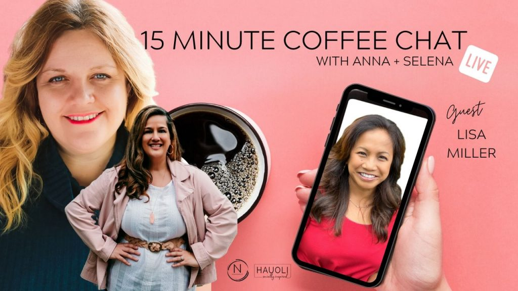 15 Minute Coffee Chat with guest Lisa Miller and talking VERSATILITY:  BUILDING A BIGGER BOX