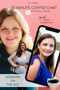 15 Minute Coffee Chat with Anna Larson & Selena Conmackie