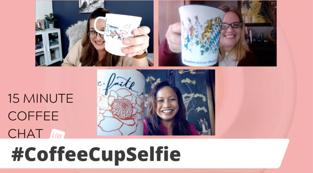 15 Minute Coffee Chat Selfie with guest Lisa Miller and VERSATILITY:  BUILDING A BIGGER BOX